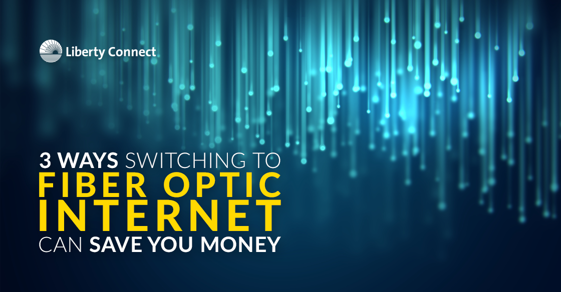 3 Ways Switching To Fiber Optic Internet Can Save You Money