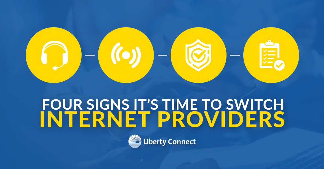 4 Signs it's Time to Switch Internet Providers